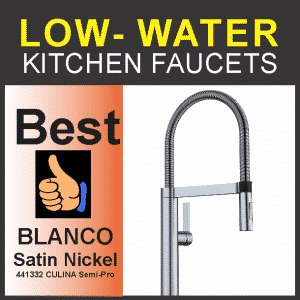 Best Kitchen Faucets for Low Water