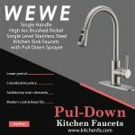 8 Best Pull Down Kitchen Faucets 2021 for Home | Buyers Guide & FAQs